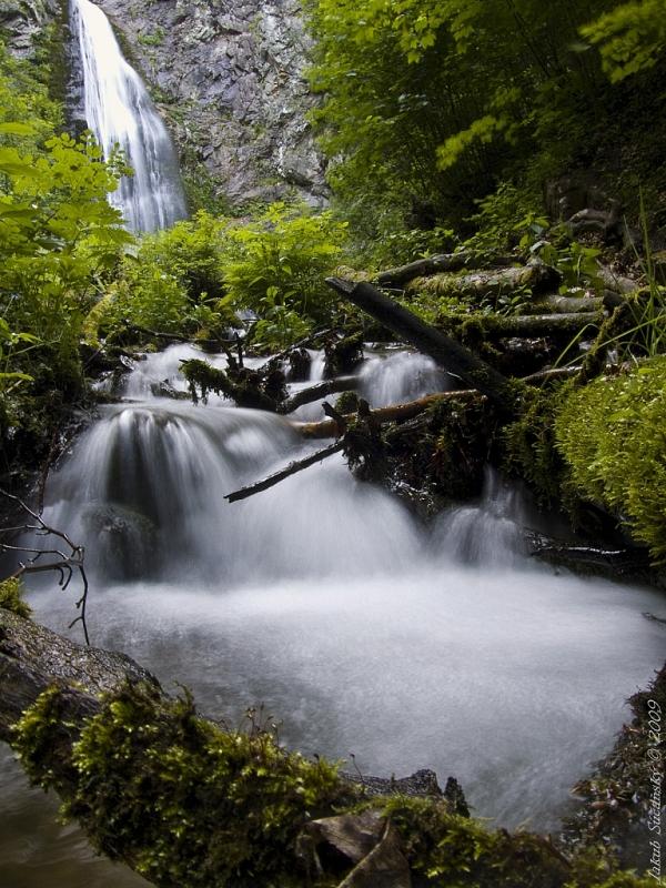 Túra šútovský vodopád